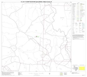 Primary view of object titled 'P.L. 94-171 County Block Map (2010 Census): Oldham County, Block 14'.