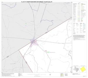 Primary view of object titled 'P.L. 94-171 County Block Map (2010 Census): Coryell County, Block 8'.