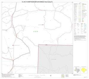Primary view of object titled 'P.L. 94-171 County Block Map (2010 Census): Pecos County, Block 55'.