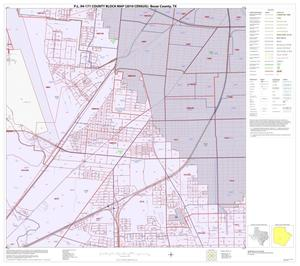 Primary view of object titled 'P.L. 94-171 County Block Map (2010 Census): Bexar County, Block 42'.