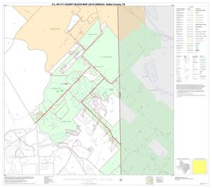 Primary view of object titled 'P.L. 94-171 County Block Map (2010 Census): Dallas County, Block 72'.