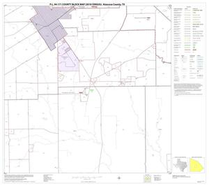 Primary view of object titled 'P.L. 94-171 County Block Map (2010 Census): Atascosa County, Block 15'.
