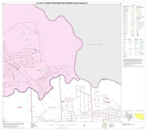 Primary view of object titled 'P.L. 94-171 County Block Map (2010 Census): Harris County, Block 54'.
