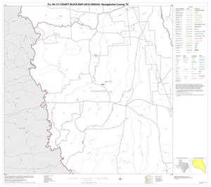 Primary view of object titled 'P.L. 94-171 County Block Map (2010 Census): Nacogdoches County, Block 5'.