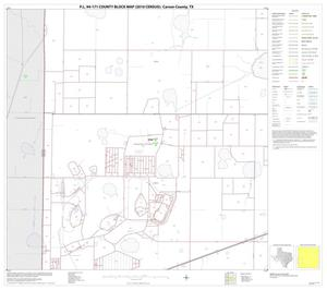 Primary view of object titled 'P.L. 94-171 County Block Map (2010 Census): Carson County, Block 9'.