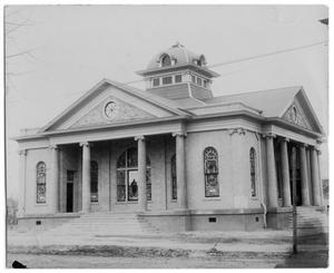 Primary view of object titled '[Baptist Church]'.