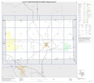 Primary view of object titled 'P.L. 94-171 County Block Map (2010 Census): Gillespie County, Index'.
