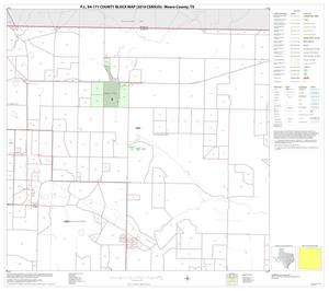 Primary view of P.L. 94-171 County Block Map (2010 Census): Moore County, Block 3