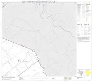 Primary view of P.L. 94-171 County Block Map (2010 Census): Victoria County, Block 3