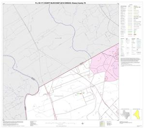 Primary view of object titled 'P.L. 94-171 County Block Map (2010 Census): Brazos County, Block 6'.