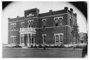 Primary view of object titled 'Lanham Building at the State Juvenile Training School'.