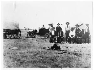 Primary view of object titled 'First Garza County Court'.