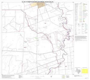 Primary view of object titled 'P.L. 94-171 County Block Map (2010 Census): Zavala County, Block 6'.