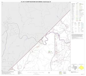 Primary view of object titled 'P.L. 94-171 County Block Map (2010 Census): Comal County, Block 3'.