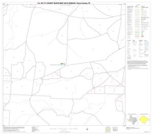 Primary view of object titled 'P.L. 94-171 County Block Map (2010 Census): Pecos County, Block 35'.
