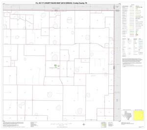 Primary view of object titled 'P.L. 94-171 County Block Map (2010 Census): Crosby County, Block 4'.