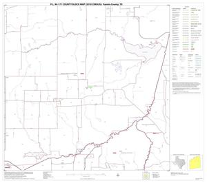 Primary view of object titled 'P.L. 94-171 County Block Map (2010 Census): Fannin County, Block 6'.