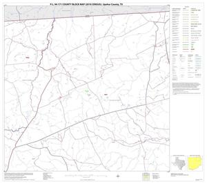 Primary view of object titled 'P.L. 94-171 County Block Map (2010 Census): Upshur County, Block 3'.