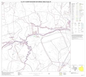 Primary view of object titled 'P.L. 94-171 County Block Map (2010 Census): Walker County, Block 4'.