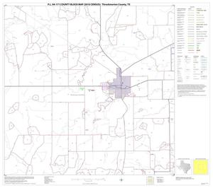 Primary view of object titled 'P.L. 94-171 County Block Map (2010 Census): Throckmorton County, Block 5'.