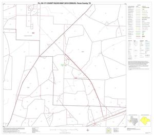 Primary view of object titled 'P.L. 94-171 County Block Map (2010 Census): Pecos County, Block 16'.