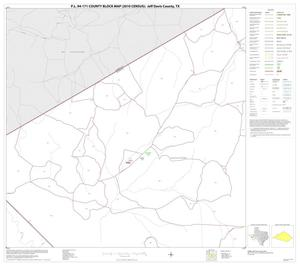 Primary view of object titled 'P.L. 94-171 County Block Map (2010 Census): Jeff Davis County, Block 9'.