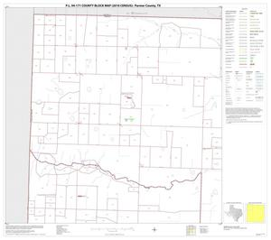 Primary view of object titled 'P.L. 94-171 County Block Map (2010 Census): Parmer County, Block 1'.