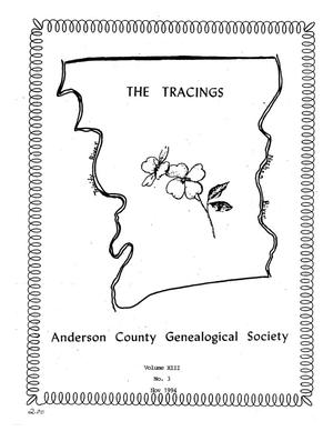 The Tracings, Volume 13, Number 03, November 1994