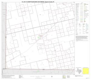 Primary view of object titled 'P.L. 94-171 County Block Map (2010 Census): Dawson County, Block 7'.