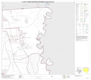 Primary view of object titled 'P.L. 94-171 County Block Map (2010 Census): Orange County, Block 6'.