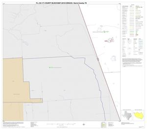 Primary view of object titled 'P.L. 94-171 County Block Map (2010 Census): Harris County, Block 20'.