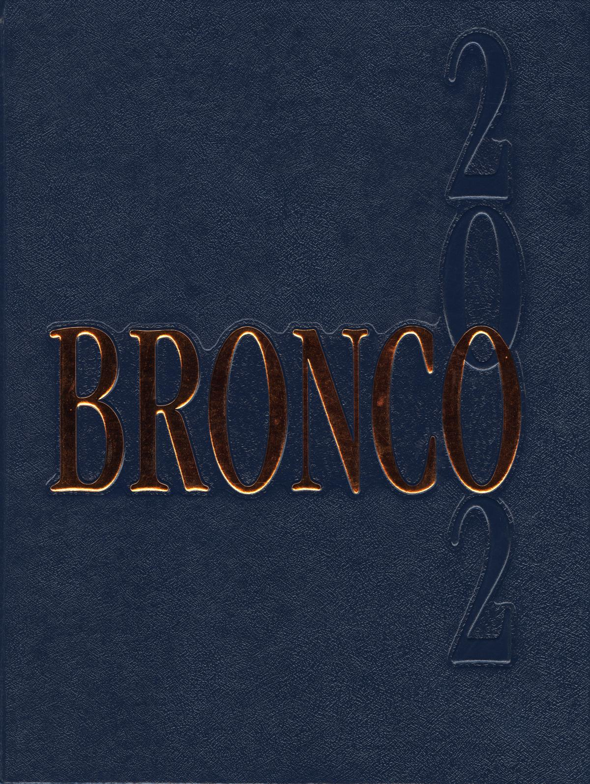 The Bronco, Yearbook of Hardin-Simmons University, 2002                                                                                                      Front Cover