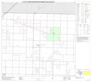 Primary view of object titled 'P.L. 94-171 County Block Map (2010 Census): Gaines County, Block 4'.
