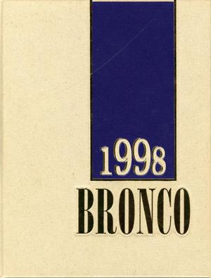 Primary view of object titled 'The Bronco, Yearbook of Hardin-Simmons University, 1998'.