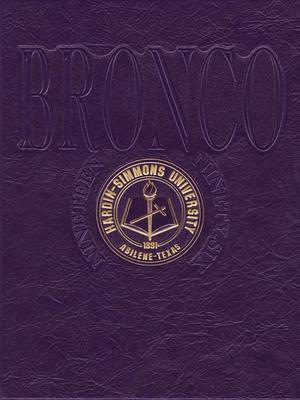 Primary view of object titled 'The Bronco, Yearbook of Hardin-Simmons University, 1996'.
