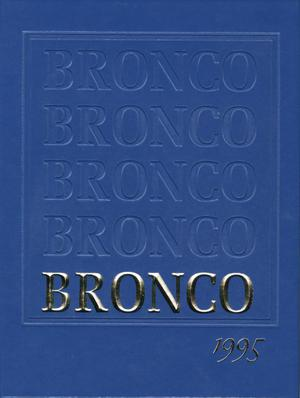 Primary view of object titled 'The Bronco, Yearbook of Hardin-Simmons University, 1995'.
