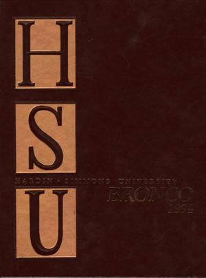 Primary view of object titled 'The Bronco, Yearbook of Hardin-Simmons University, 1994'.