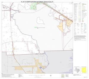 Primary view of object titled 'P.L. 94-171 County Block Map (2010 Census): Kaufman County, Block 28'.