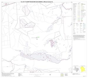 Primary view of object titled 'P.L. 94-171 County Block Map (2010 Census): Jefferson County, Block 23'.
