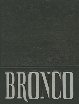 The Bronco, Yearbook of Hardin-Simmons University, 1993