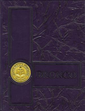 Primary view of object titled 'The Bronco, Yearbook of Hardin-Simmons University, 1991'.