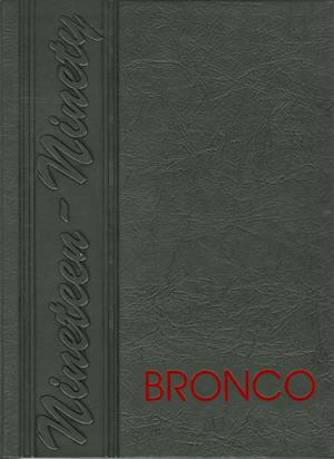 The Bronco, Yearbook of Hardin-Simmons University, 1990