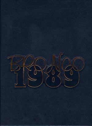 The Bronco, Yearbook of Hardin-Simmons University, 1989