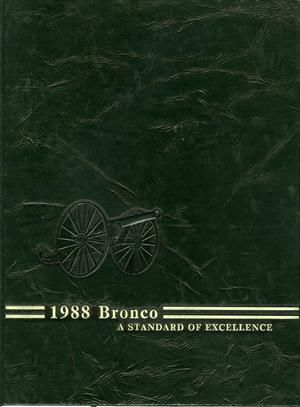 The Bronco, Yearbook of Hardin-Simmons University, 1988