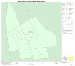 Primary view of object titled 'P.L. 94-171 County Block Map (2010 Census): Chambers County, Inset B01'.