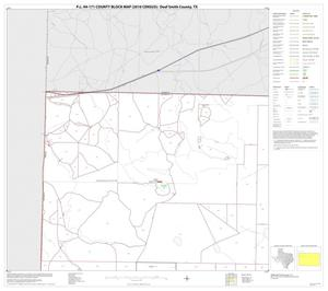 Primary view of object titled 'P.L. 94-171 County Block Map (2010 Census): Deaf Smith County, Block 1'.