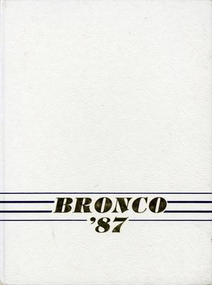 Primary view of object titled 'The Bronco, Yearbook of Hardin-Simmons University, 1987'.