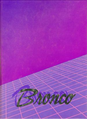 Primary view of object titled 'The Bronco, Yearbook of Hardin-Simmons University, 1986'.