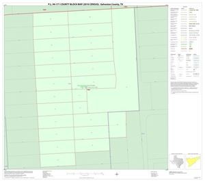 Primary view of object titled 'P.L. 94-171 County Block Map (2010 Census): Galveston County, Inset B01'.