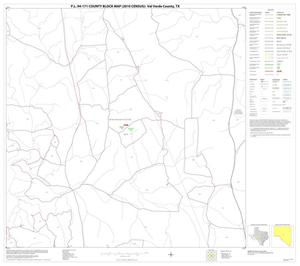 Primary view of object titled 'P.L. 94-171 County Block Map (2010 Census): Val Verde County, Block 46'.
